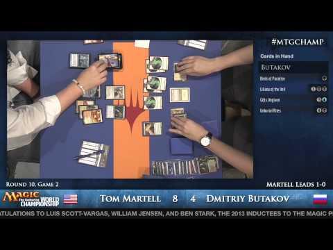 2013 Magic World Championship - Modern Round 10 - Tom Martell vs. Dmitiry Butakov