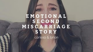 Emotional Second Miscarriage Story💔😢