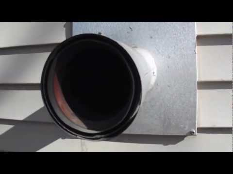 DIY - How to Clean out your Pellet Stove Exhaust Vent