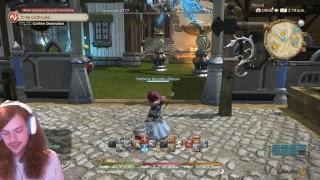 Final Fantasy XIV - WHM/BLU - Rival Wings Hidden Gorge/ Maybe Grind BLU  Lv 38+/ Back to progs soon