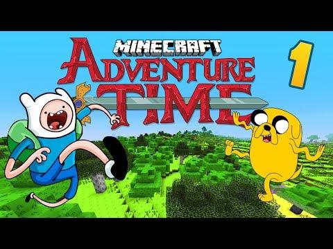 ADVENTURE TIME Ep.1 ★ Minecraft Adventure