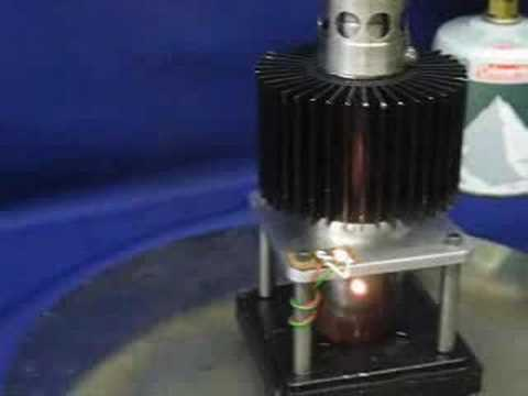 Stirling Engine. Free Piston Generator
