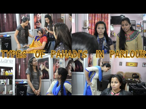 Types Of Pahadi In Parlour ||Kumauni Ghachake ||Haldwani 2018