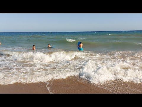 Playa Vilanova I la Geltrú Barcelona España.