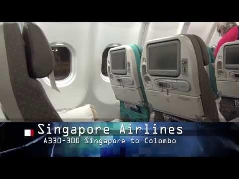 Singapore Airlines Economy, Singapore to Brisbane
