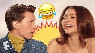 Tom Holland & Zendaya's Date Scenes Were Difficult to Shoot   'Spider-Man: Far From Home' Interview