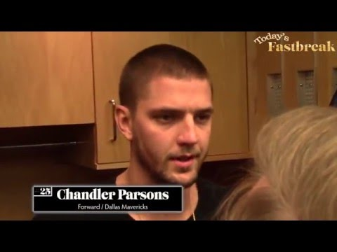 Chandler Parsons Is The Sixth Man For The Dallas Mavericks