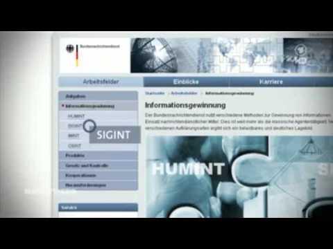 Was macht eigentlich der Bundesnachrichtendienst (BND) ? - 11.07.2013