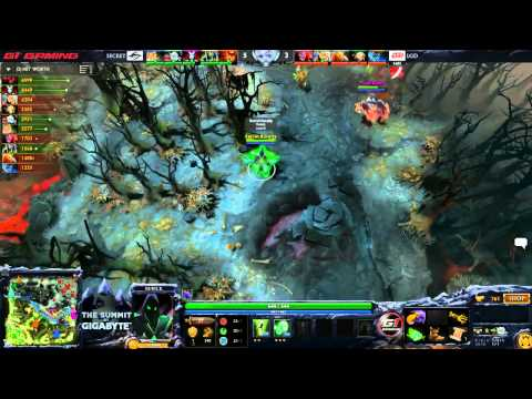 Secret vs LGD game 1 The Summit 3 Lan Finals