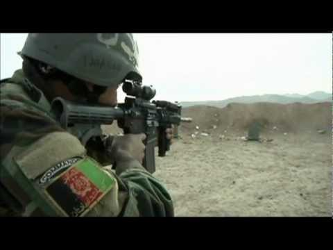Afghan Commandos Special Forces Training in Herat Province (Long Ver.)