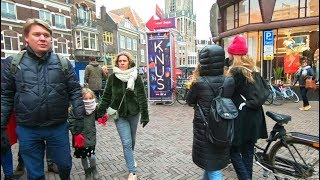 Walking Through the Streets of Utrecht in the Netherlands