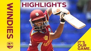 Windies Women v South Africa 4th T20I 2018 | Full Highlights