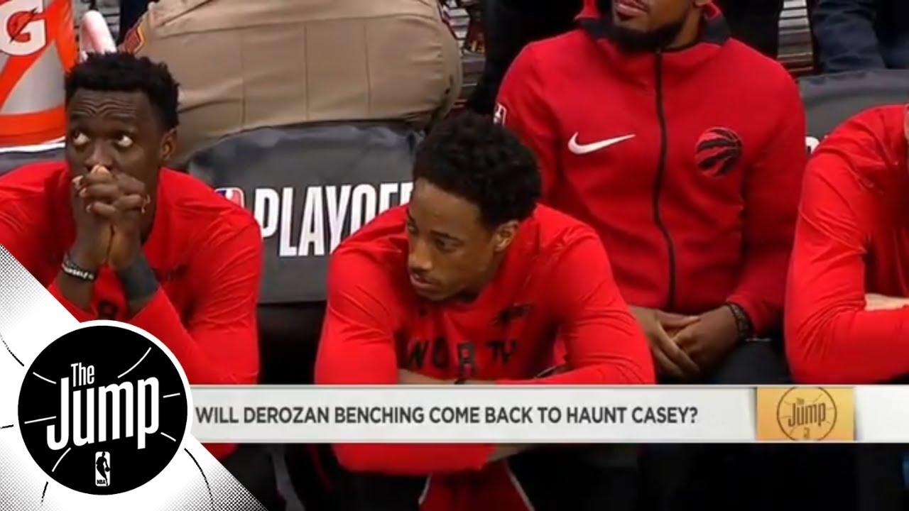 Will benching DeMar DeRozan come back to haunt head coach Dwane Casey? | The Jump | ESPN