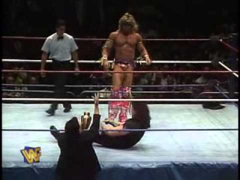 Ultimate Warrior Vs Undertaker Wwf 1991 video