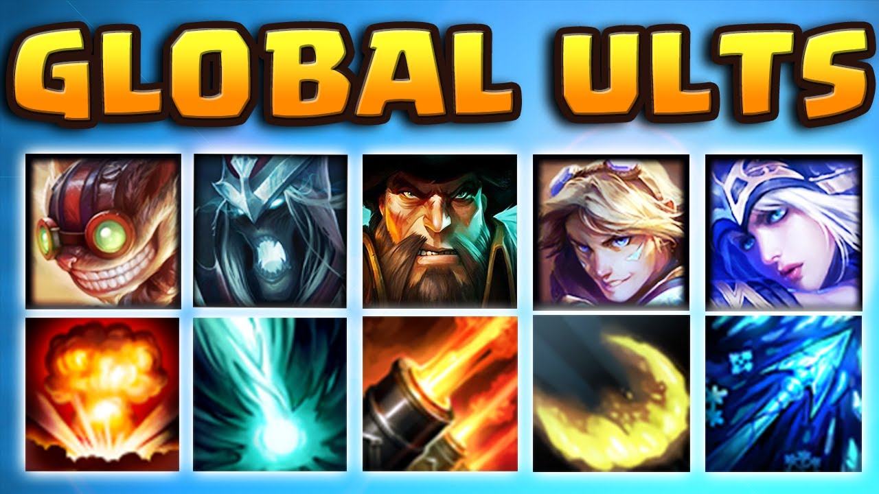 GLOBAL ULTS TEAM 2018 | MOST BROKEN TEAM EVER | THEY CAN'T EVEN MOVE |  (1165 AP KARTHUS JUNGLE)