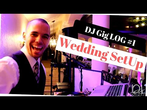 DJ DuPree ENT. Gig Log 1 | Wedding Set Up