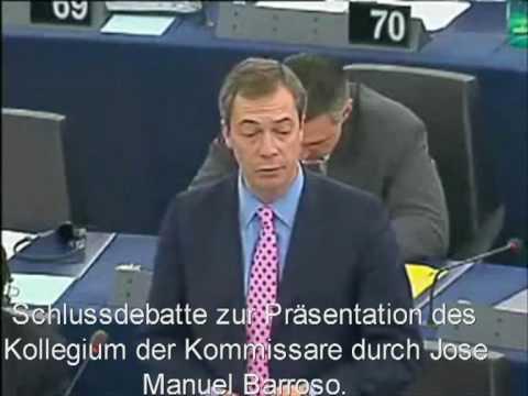 Eine eiserne Faust ist über Europa gekommen - Nigel Farage