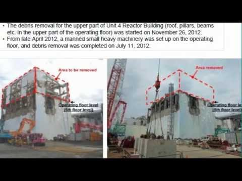 Fukushima: new photos of Tsunami w/ Workers on Roof, Inside Reactor 3 pictures & update 7/11/12