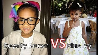 Who's Richer Royalty Brown  Or Blue Ivy Carter 2018 [Royalty Brown & Blue Ivy Net Worth ]