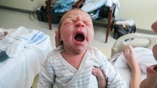 Newborn's First Day!