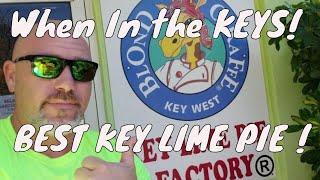 BEST KEY LIME PIE! When in the Keys!