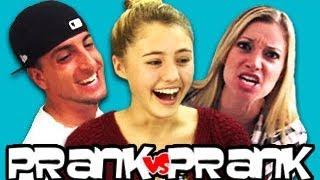 Teens React to PrankvsPrank
