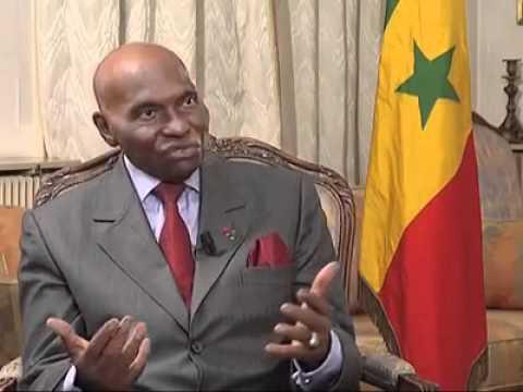 Mr. Abdoulaye Wade parle de Kadhafi et du dossier libyen Partie1
