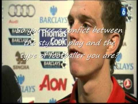 Daniel Agger Danish Interview (after United-Liverpool)