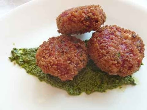 Beetroot Tikki - Indian Vegetarian Recipe