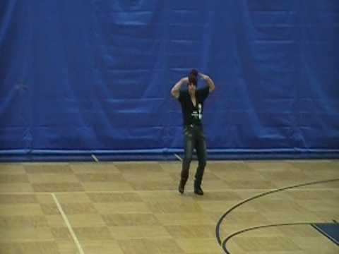 Casper Smart dance-off!