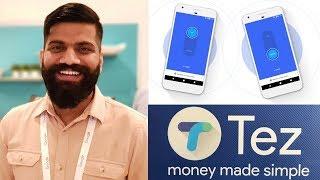 Google Tez Payment App - Made for India - UPI & Cash Mode!!