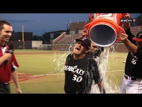Sports: Bearcats Baseball Post Game Shenanigans