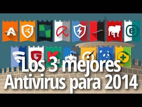 Top 3 de los mejores antivirus para 2014 (y el mejor gratuito)