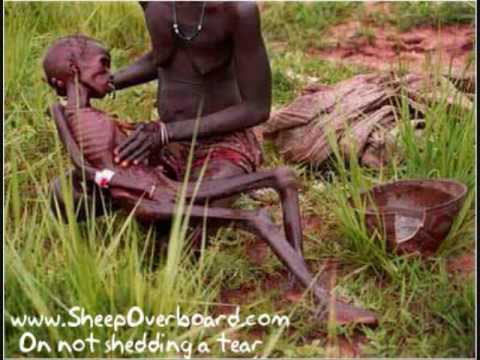 starving poor in africa