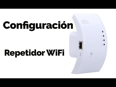 tutorial configuracion router repetidor señal wifi wireless