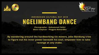 Ngelimbang Dance - Indonesia Culture Day 2018 By PPI Tainan @NCKU