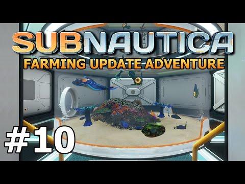 Subnautica (Farming Update) - Aquarium Expansion - PART #10