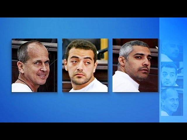 Egypte : trois ans de prison ferme pour les journalistes d'Al-Jazeera