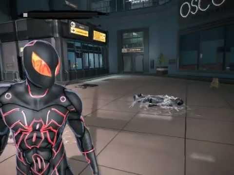 The Amazing Spider-Man TRON skin