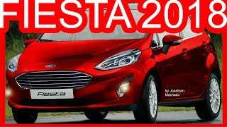 PHOTOSHOP Ford Fiesta 2018 Facelift @ Brasil #FORD