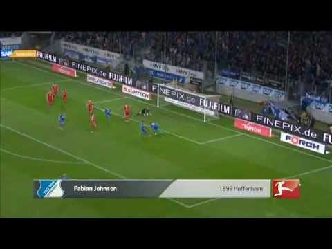 Fabian Johnson Amazing Goal 10.4.12 Hoffenheim