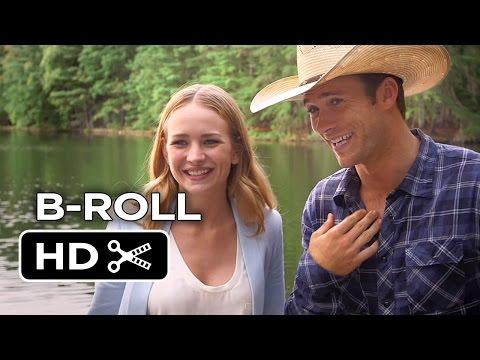 The Longest Ride B-ROLL 2 - Britt Robertson, Scott Eastwood Romance HD