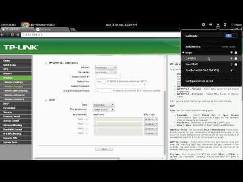 Configuración Router TP-LINK TL-WR841N
