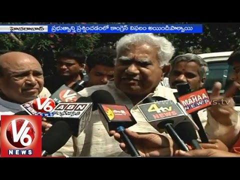 Telangana Congress party didn't play as opposition role in the state - Palvai Govardhan Reddy
