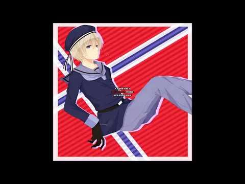 Hetalia Let it go Norwegian (La Den Gå) Nightcore: Norway