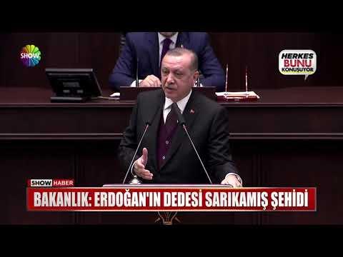 """Bakanlık: """"Erdoğan'ın Dedesi Sarıkamış Şehidi"""""""