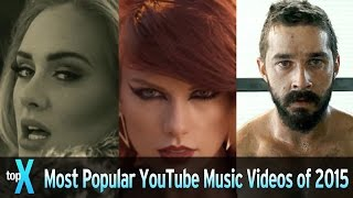 Top 10 Most Popular YouTube Music Videos Of 2015 TopX VideoMp4Mp3.Com