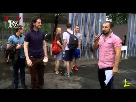 Один из лучших ведущих и МС Украины Руслан Костов Открытие спортплощадки в Одессе