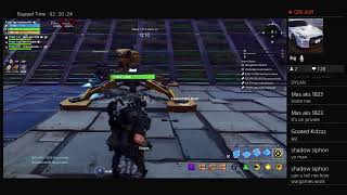 Fortnite Save the World trying to bulid a good afk wargames