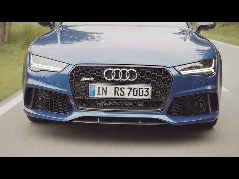 NEW 2015 Audi RS 7 Sportback reveal promo